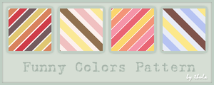Funny Colors Pattern by ThulaMarquise