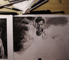 Wolverine WIP by Thubakabra