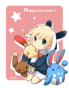 happy new year by Charln