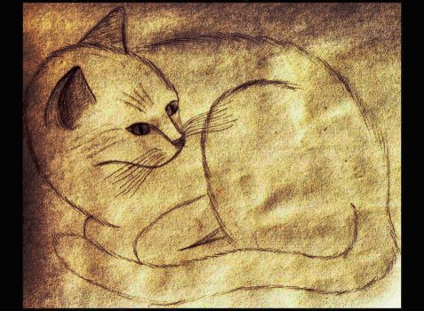 Ginger on Parchment by SilverFritillary