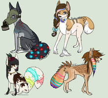 Adoptable Auctions CLOSED by TheFoxFeatherz