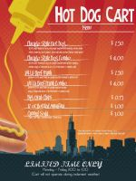 Hot Dog Poster by ajspring0019