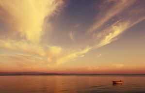 an usual sunset by oeminler