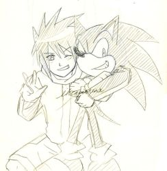 Sonic and... Sonic by ihearrrtme