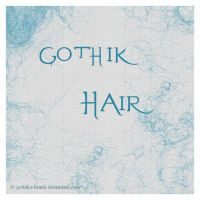 Gothik Hair by gothika-brush