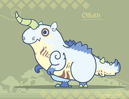 Hiraeth Creature #789 - Olluth by Cosmopoliturtle