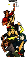 Total Drama World Tour Reunion by MirrorCover