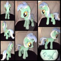 MLP 13 inch Lyra plushie - BronyCon 2016 by RubioWolf