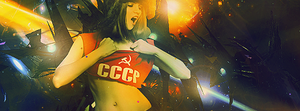 CCCP Girl Platina Style by Exclamative