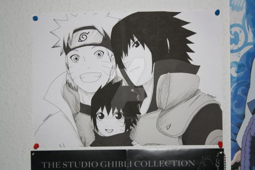 Family Picture by PRoachHeart-Sasuke