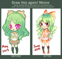 Draw This Again!! 2013-2015 by mameshii