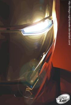Iron Man by Thiago-NightCrawler
