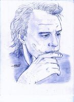 Heath Ledger: Why So Somber by StevenWilcox