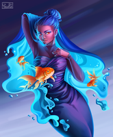 Draw This in Your Style - DestinyBlue by Yseulta