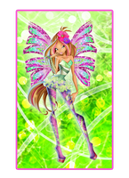 Flora Sirenix Nickelodeon Style by Dessindu43