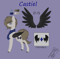 Catiel Ref Sheet (Request) by LunaShineArts