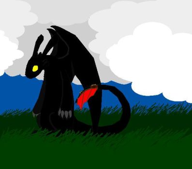 Toothless by Roradracon