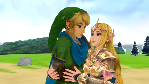 Link x Zelda Hyrule Warriors MMD First time Wii U  by 9029561