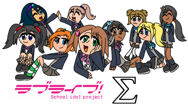 Love Live SIGMA by MelonTart-mlp