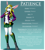Commission: Patience Ref by Blitzy-Arts