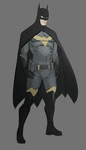 Batman Redesign by Psuede