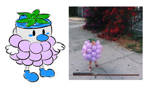 Baby Mugman as Grapes by Chenanigans