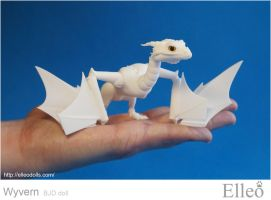Wyvern bjd dragon 01 by leo3dmodels