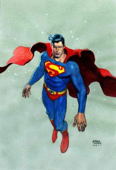 superman by Andrew-Robinson
