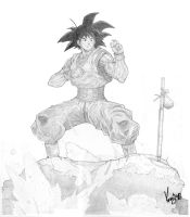 Goku Kata by SeptVirgo