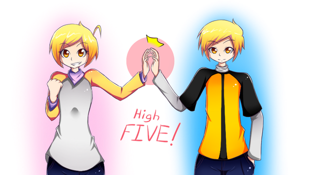 High-FIVE Redraw by Tyxant