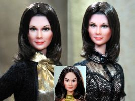 Kate Jackson Charlie's Angels doll repaint by noeling