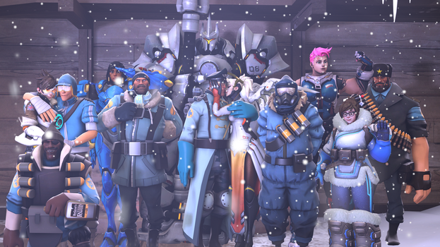 Group Photo[SFM] by supernew20003050
