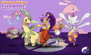 Pokemon Trainer - Shantae