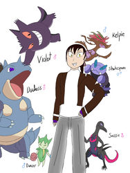 Tyrian Pokemon  by xXPaintedLady