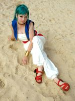 Bulma Desert Outfit by Pi-Cosplay