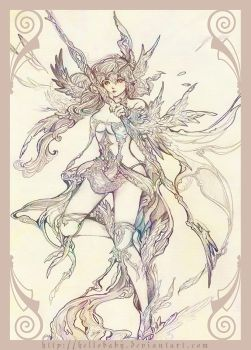 Silver hunter by Hellobaby