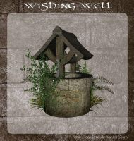 3D Wishing Well by zememz