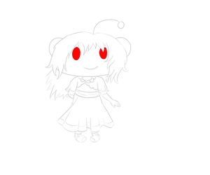 Snoo from Reddit - Daily Sketch by SashikuChan