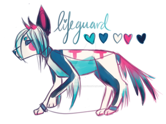 PWYW CLOSED Adopt 'lifeguard' by ViceVersaVirtue