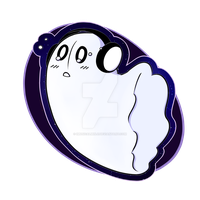 Napstablook Charm by iMusicalMinji