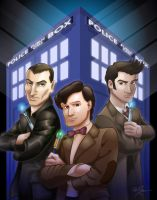 The Doctors Three by Hawkstone