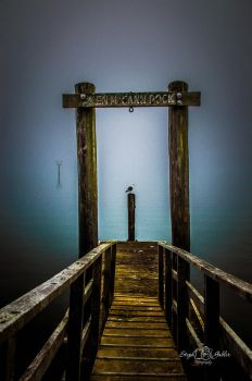 The End of the Dock by StephGabler
