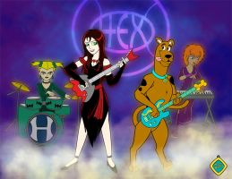 Scooby and the Hex Girls by amisam