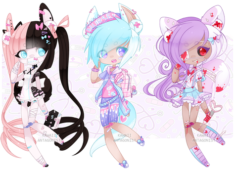 Medi-Borg guest adopts: CLOSED by kawaii-antagonist