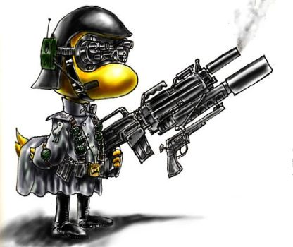 Lt Commander Ducky by MeckanicalMind