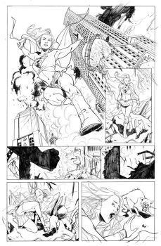 SUPERGIRL PG1 by RRatton