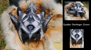 Leather Harbinger Crown by Epic-Leather
