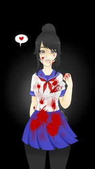 Yandere Chan by CerealBits