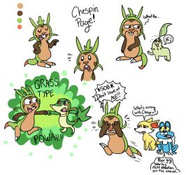 Chespin Page by dawny