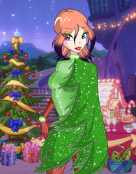 [WC] WSF Defigina Christmas outfit by WinxDestinyPhantom
